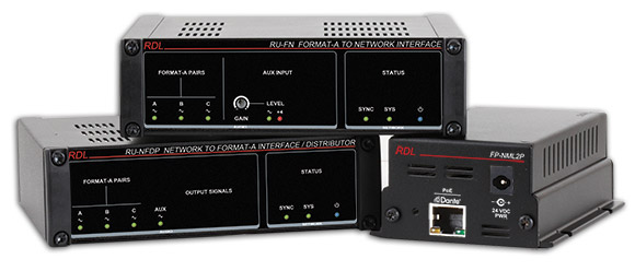 RDL to Introduce a Suite of Dante-enabled Audio Products at InfoComm 2015 Booth # 359