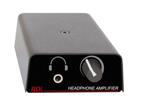 TP-HA1A FORMAT-A headphone amplifier provides students with studio-quality audio and independent volume control