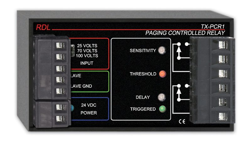 PAGING CONTROLLED RELAY