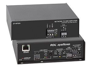 Dante® Plenum-rated Network Audio Amplifiers