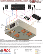 AUTOMATIC POWERING OF CLASSROOM A/V SYSTEM Automatically Turn System On and Off to Conserve Energy and Simplify Operation