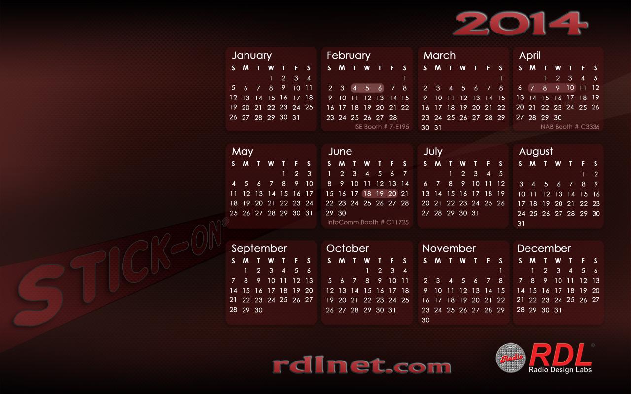 Calendar Labs May : Rdl calendar dimensions