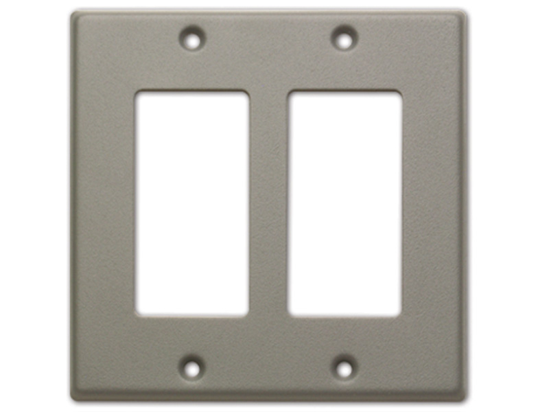 CP-2G ‐ Double Cover Plate - gray