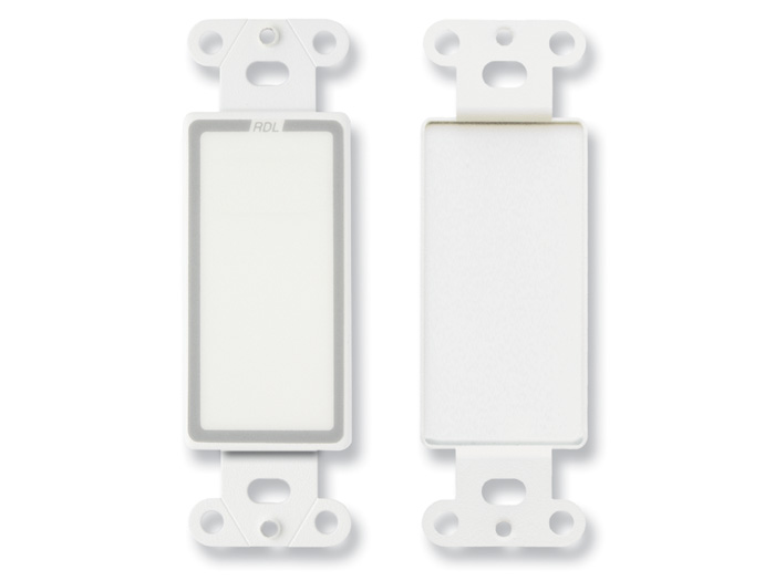 D Blank Decora Wall Plate With No