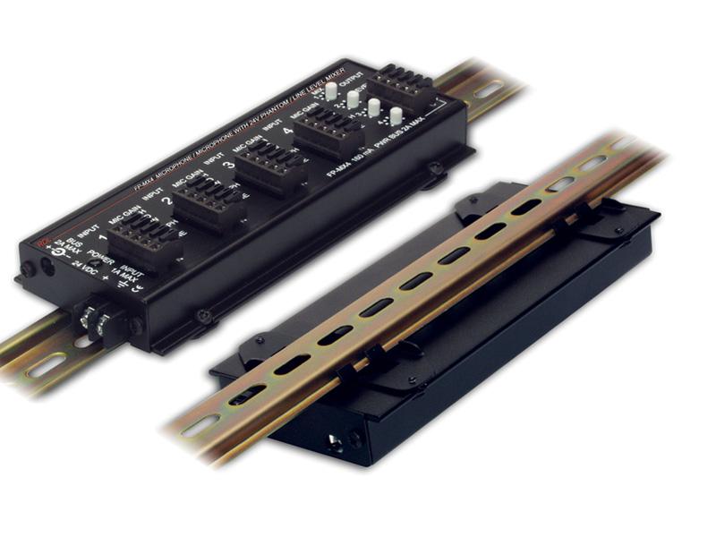 Dra 35f ‐ Flat Pak Din Rail Adapter