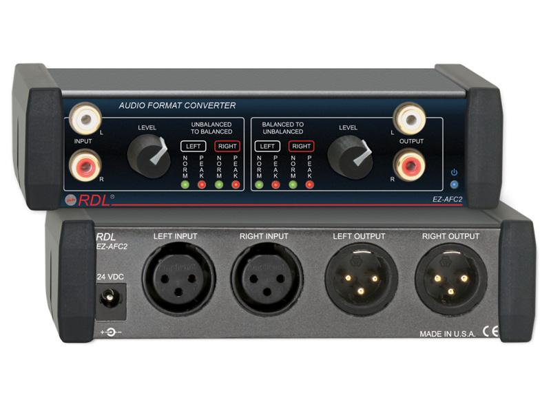 EZ-AFC2 ‐ Audio Format Converter - Stereo Balanced ...