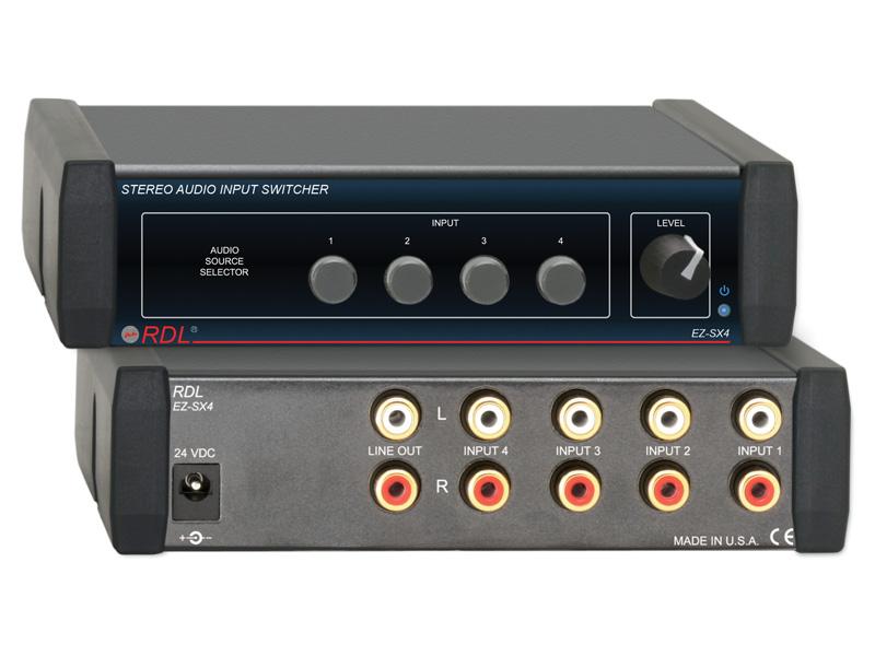 Ez Sx4 ‐ Stereo Audio Input Switcher 4x1