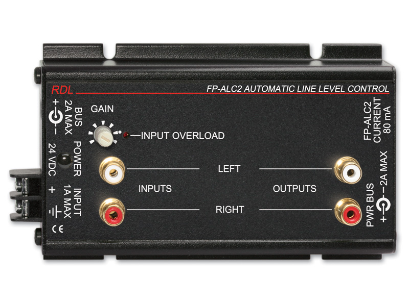 Fp Alc2 ‐ Automatic Level Control Stereo Rca Jacks