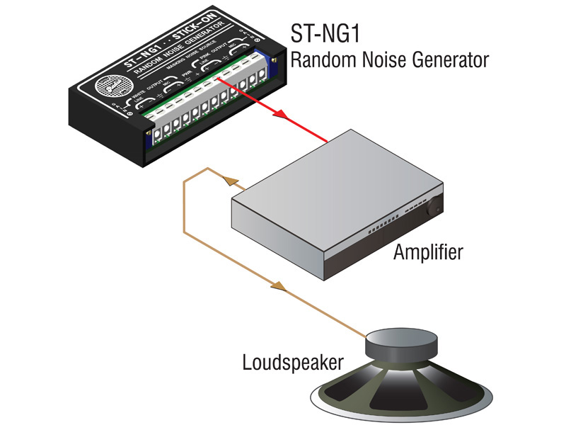 St Ng1 ‐ White And Pink Noise Generator