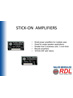 Amplifiers STICK-ON Series