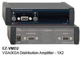 EZ-VMD2 VGA/VXA Distribution Amplifier - 1x2